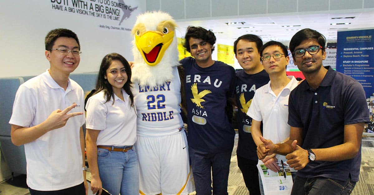 Group of Students at Open House